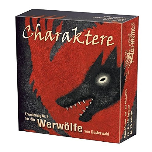 "Asmodee 1821 ""Werewolves of Miller's Hollow: Characters"" Expansions Set"