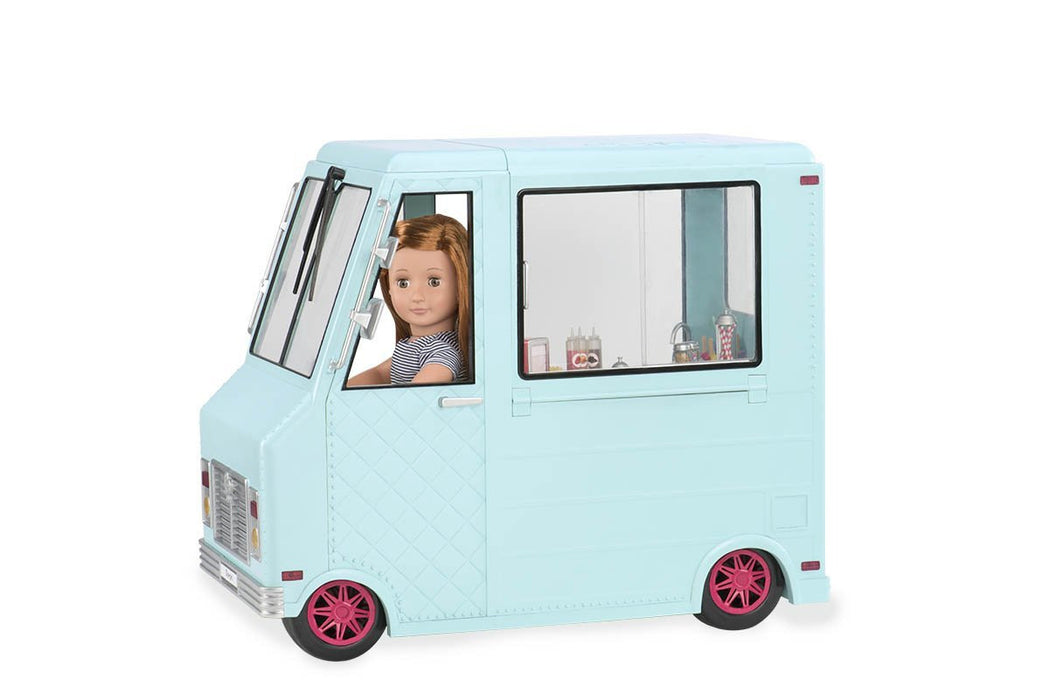 Our Generation 18-Inch Sweet Stop Ice Cream Truck