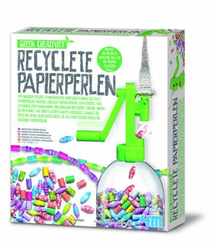 4M Recycled Paper Beads Kit (Multi-Colour)