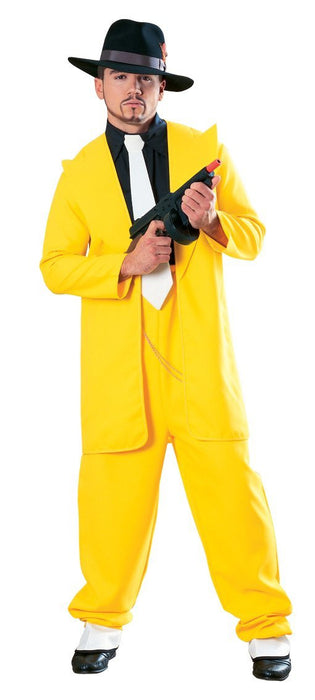 Rubie's Official Zoot Suit Fancy Dress - Standard, Yellow