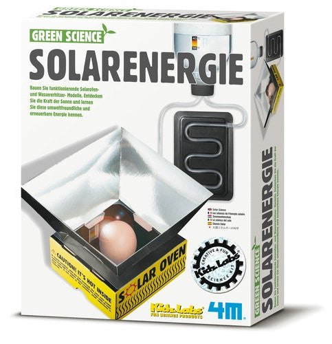 "4M ""Green Science"" Solar Science Toy (Multi-Colour)"