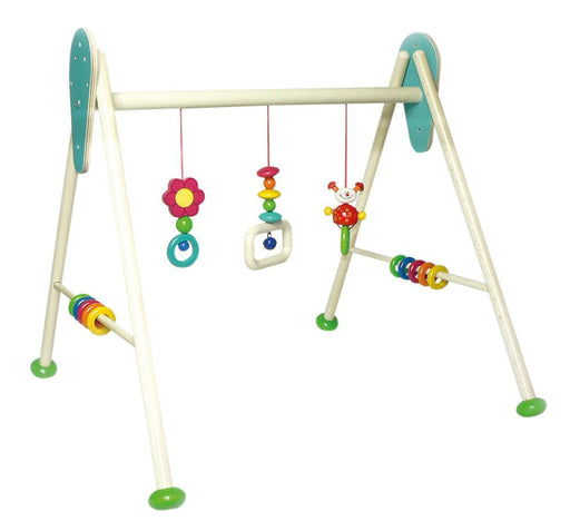 Hess Wooden Baby Activity Baby Gym Beetle Tom Toy