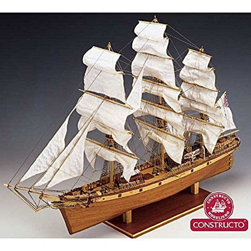 "Constructo 80838 Model-Making Kit ""Cutty Sark"" Ship in 1:115 Scale"