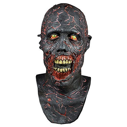 Adult Latex Mask Charred Walker - The Walking Dead - One size