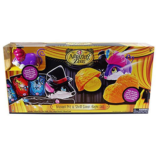 Amazing Zhus Wizard Pet and Shell Game Magic Set