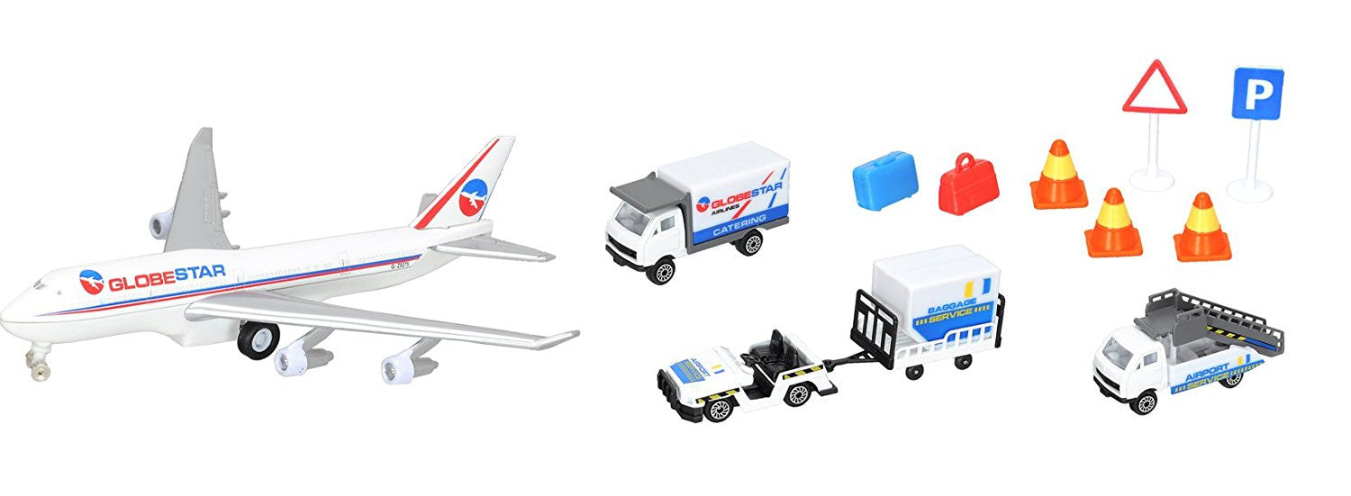 Dickie Toys Airport Playset (Multi-Colour)