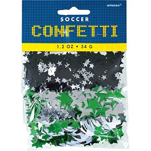 Championship Soccer 3 Pack Mixed Confetti