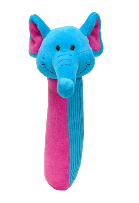 Baby by Fiesta Crafts Elephant Squeakaboo Plush Toy