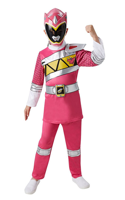 Rubie's Official Child's Power Rangers Dino Charge Pink Ranger - Medium