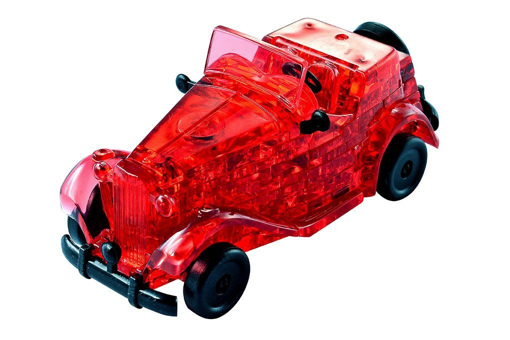 "HCM ""Oldtimer"" Crystal Puzzle (53-Piece, Red)"