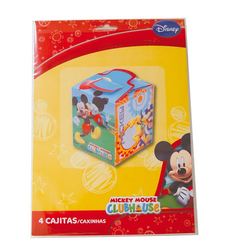 Mickey Mouse – Pack 4 of Empty Boxes (verbetena 014000599)