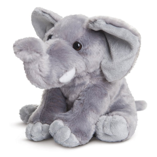 Aurora World Destination Nation Elephant Plush Toy (Grey/White)