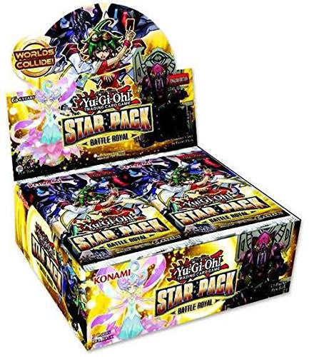 Yu-Gi-Oh! 14634 Star Pack Battle Royal Booster Display Box (Pack of 50)