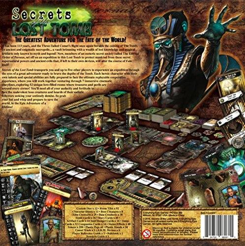 Secrets of the Lost Tomb Core Board Game 2nd Edition
