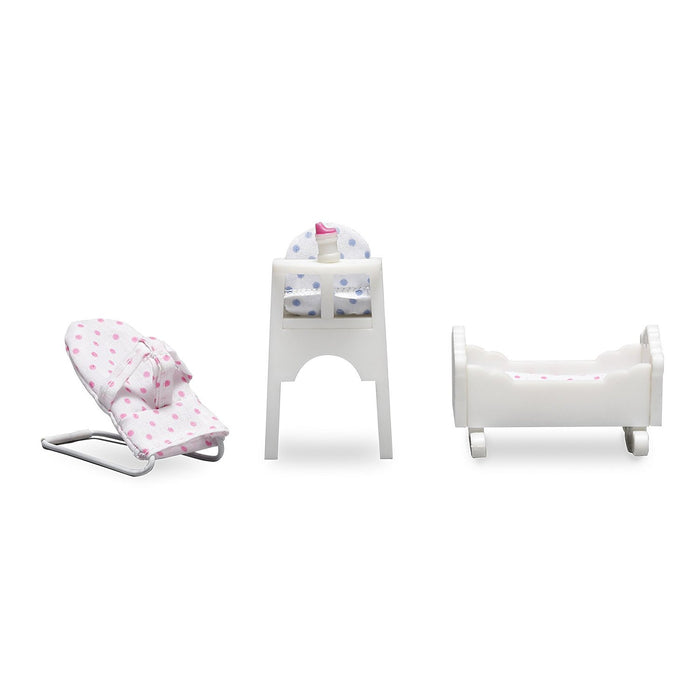 Lundby (Dolls House) - Småland Baby Furniture Set 1:18 Scale