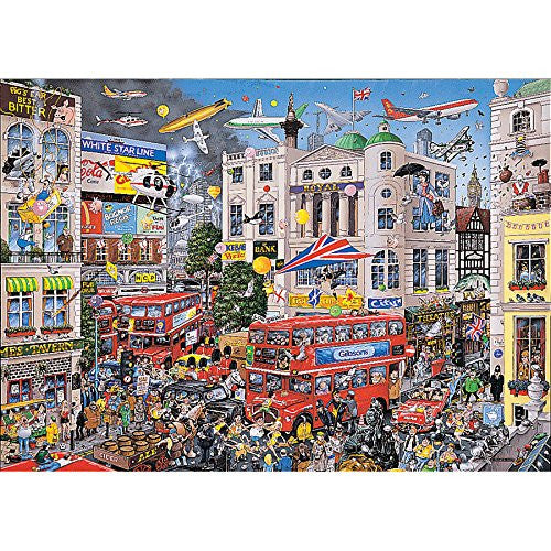 Gibsons Puzzle - I Love London (1000 pieces)