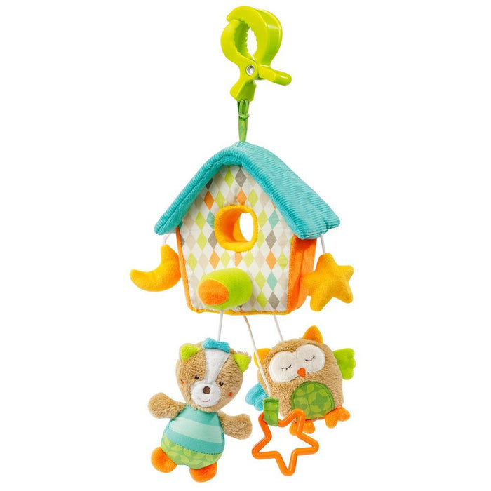 Fehn 71115 Mini House Musical Cot Mobile