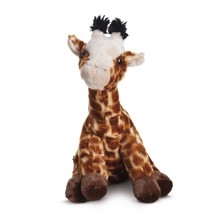 Aurora World Destination Nation Giraffe Plush Toy (Brown/Orange/Peach)