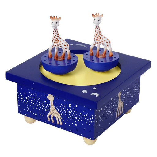 Trousselier Spinning Music Box Sophie The Giraffe Milky Way