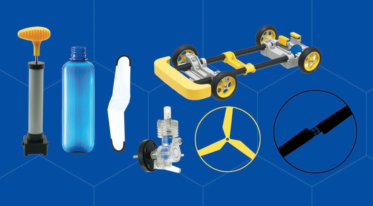 Eduscience Junior Scientist Air Engine Car and Helicopter Kit