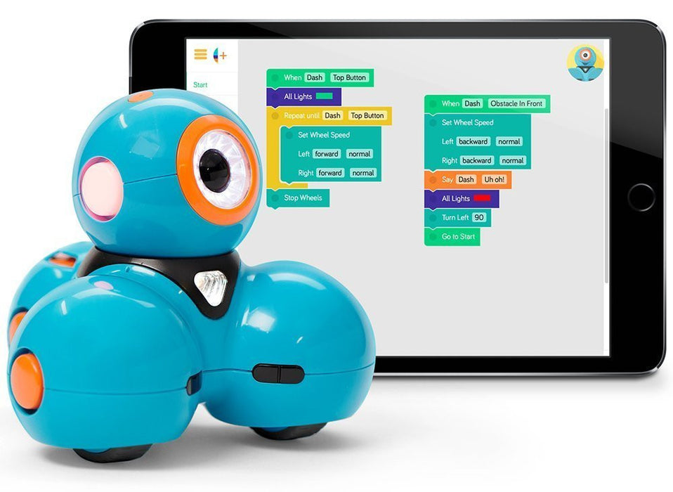 Dash Robot by Wonder Workshop - Smart Robots for Curious Minds, Girls and Boys  learn how to code while having fun - Free Apps