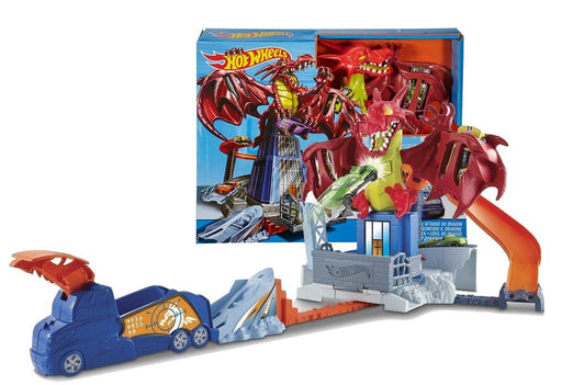 Hot Wheels DWL04 Dragon Blast Play Set