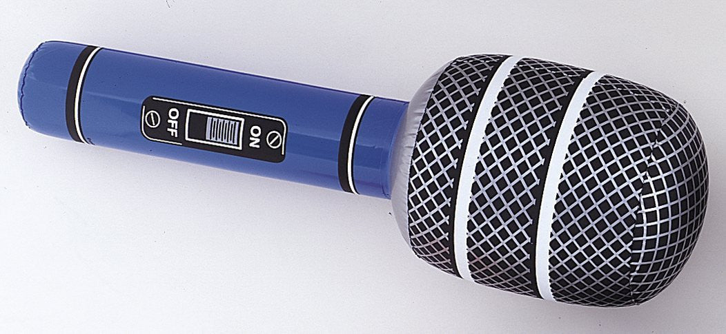 Inflatable Giant Microphone