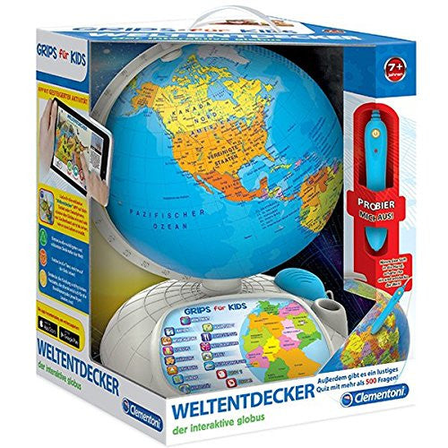 "Clementoni ""Interactive Globe with App"" Puzzle"