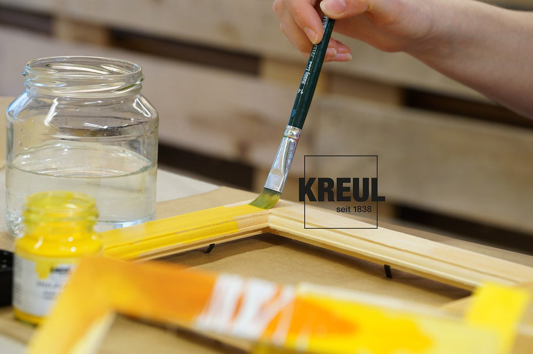 Kreul 78206 - Wood Stain Colour 275 ml Glass, Red