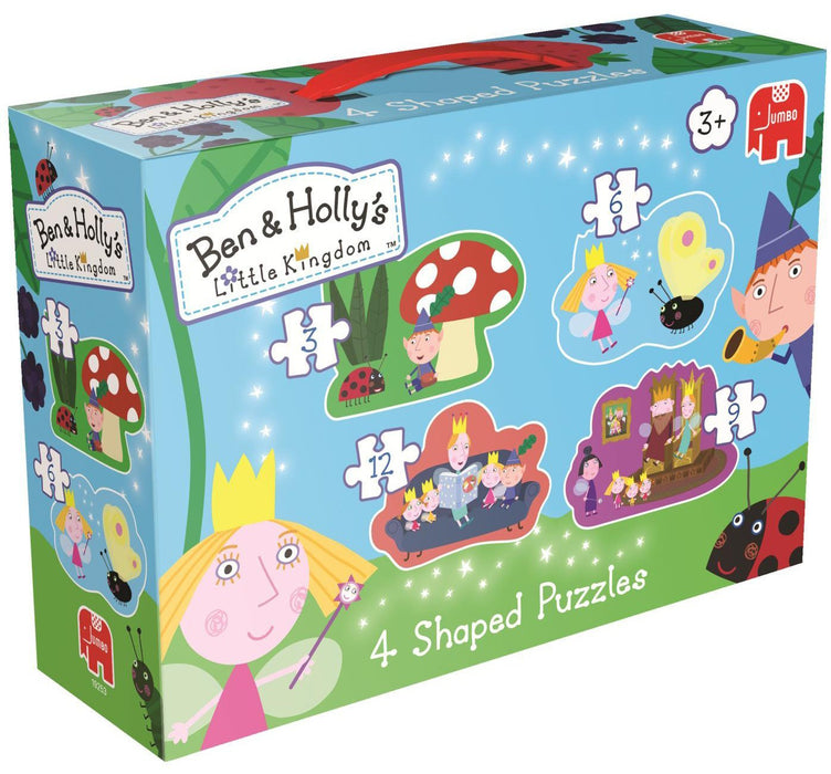 Ben & Holly's Little Kingdom Shaped Jigsaw Puzzles in a box
