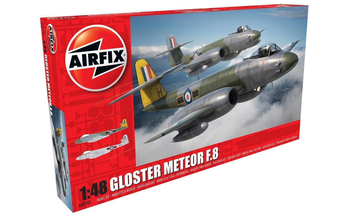 Airfix Model Kit A09182 Gloster Meteor F8