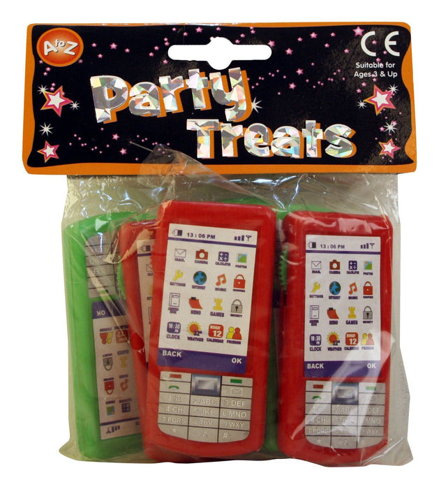 A to Z 03310 Mobile Phone Shaped Animal Viewer Party Favours Toy