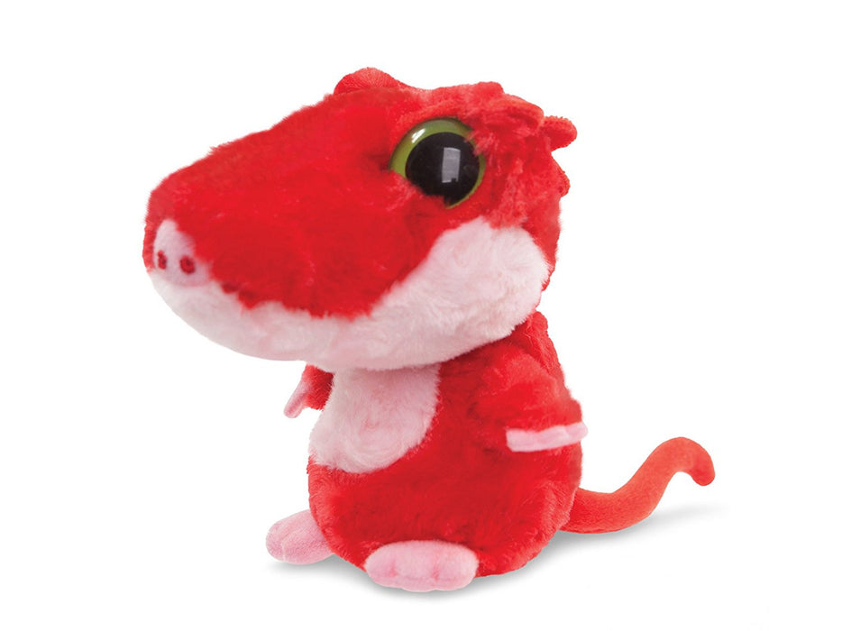 Aurora World 5-inch Yoohoo and Friends Spectacle Crested Gecko (Red)