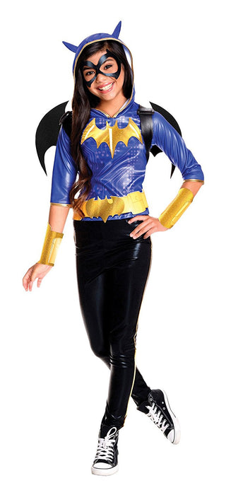 Rubie's Official Girl's Dc Super Hero Deluxe Batgirl Costume - Large