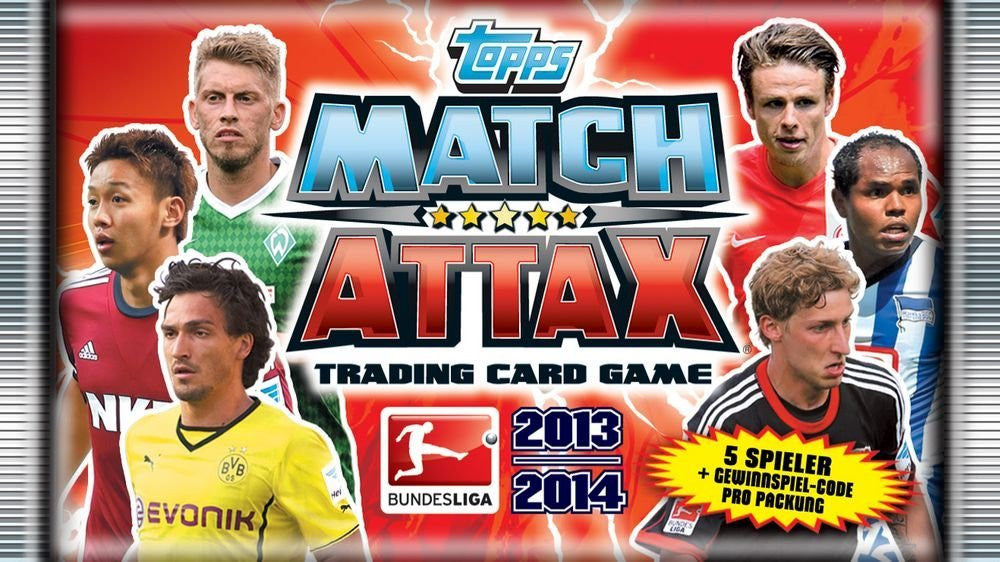 Topps TO00356 - Match Attax 2013-2014 Booster