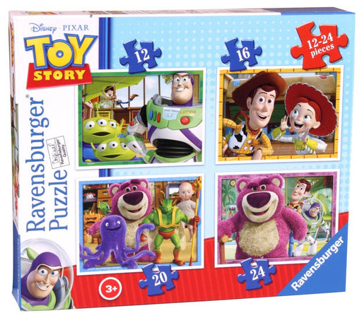 Ravensburger Disney Toy Story, 4 in Box (12, 16, 20, 24pc) Jigsaw Puzzles