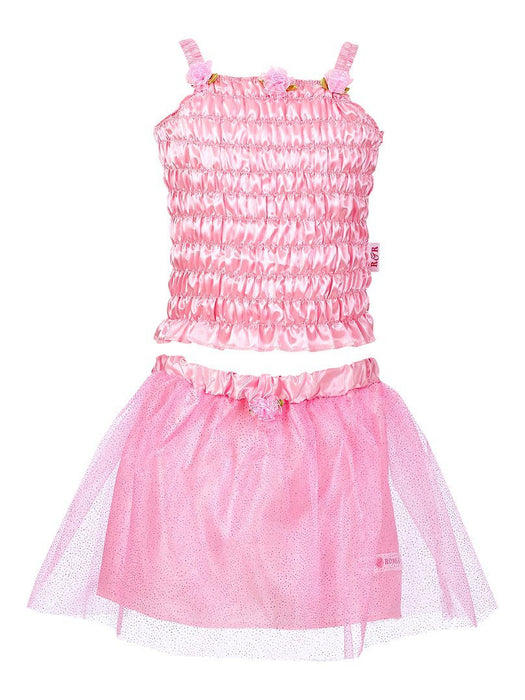 Pink Romeo - 10083 - Kids Fancy Dress Costume Child - Melody - Top and Skirt Set - Pink