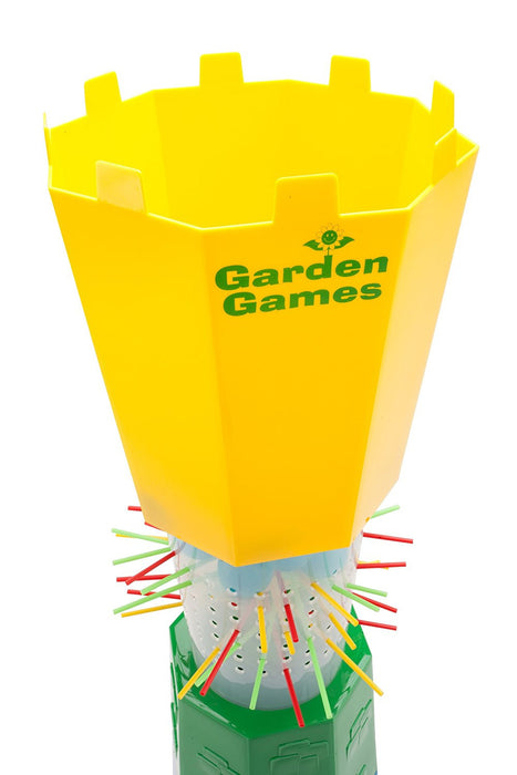 Garden Games Cannon Ball Drop - Giant Kerplunk Style Garden Game Great Family Fun