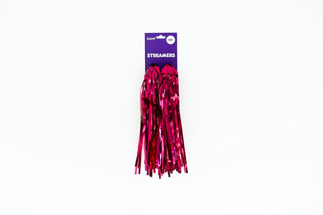 Scoot Scooter and Bike Streamers (Red)
