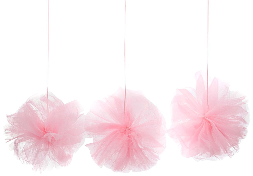 Amscan International 180182-109 Pink Fluffy Tulle Decoration Kit