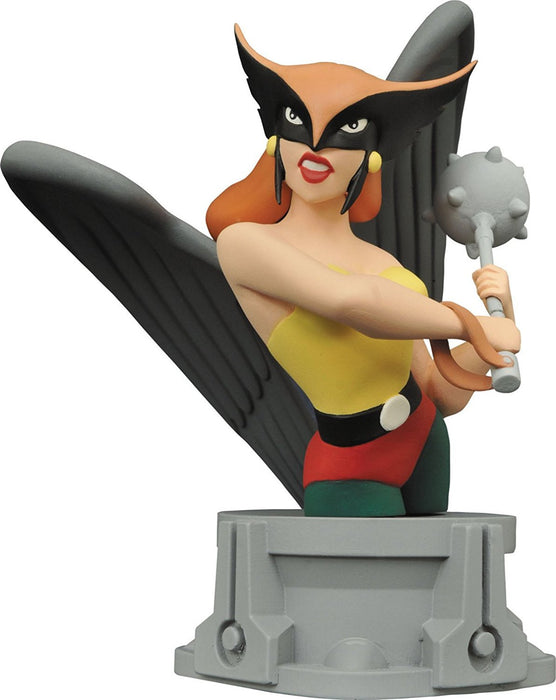DC Comics MAY162404 JLA Animated Series Hawkgirl Resin Bust