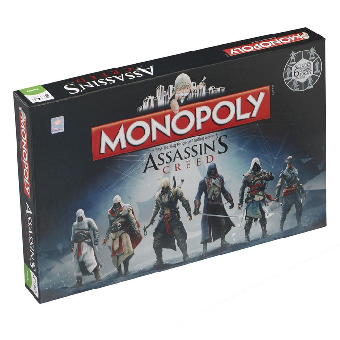 Assassins Creed Winning Moves Monopoly Board Game