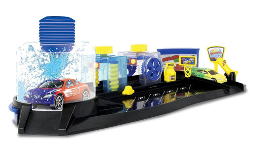 Motormax Twisters Colour Change Car Wash Playset