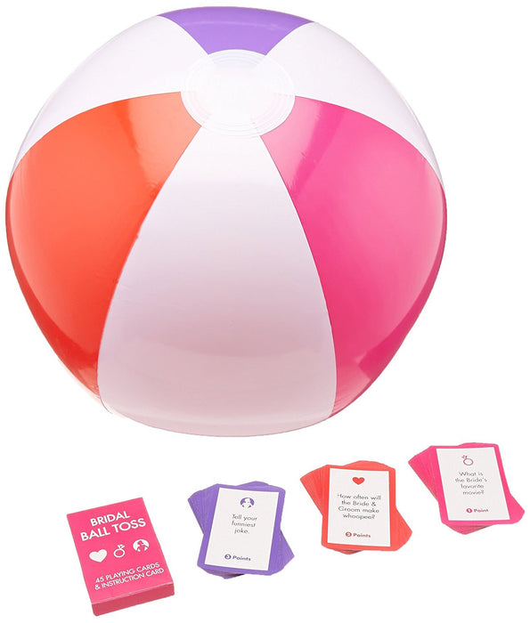 Amscan Bridal Ball Toss Game Party Accessory