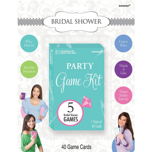 Amscan Kit Bridal Shower Game Party Accessory