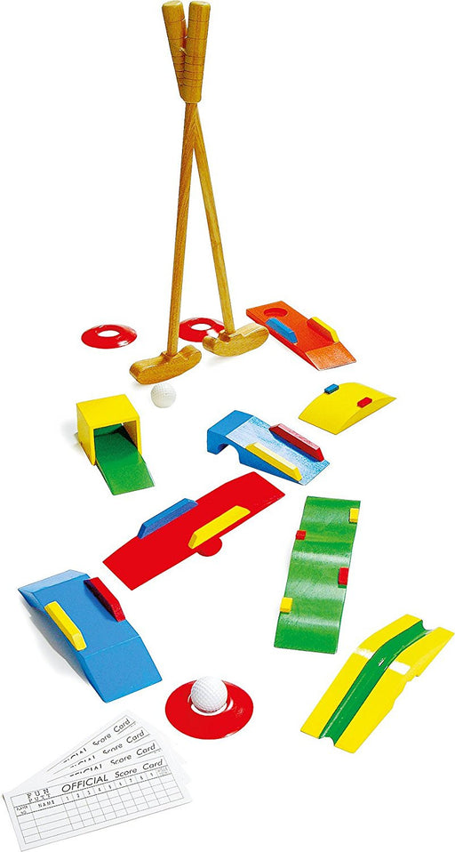 Small Foot Company Mini Crazy Golf Set for Age 5+