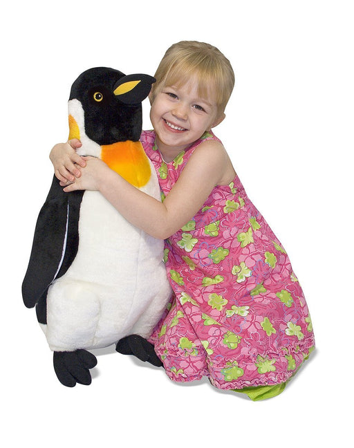 Melissa & Doug Giant Penguin - Lifelike Stuffed Animal (nearly 0.5 meters tall)