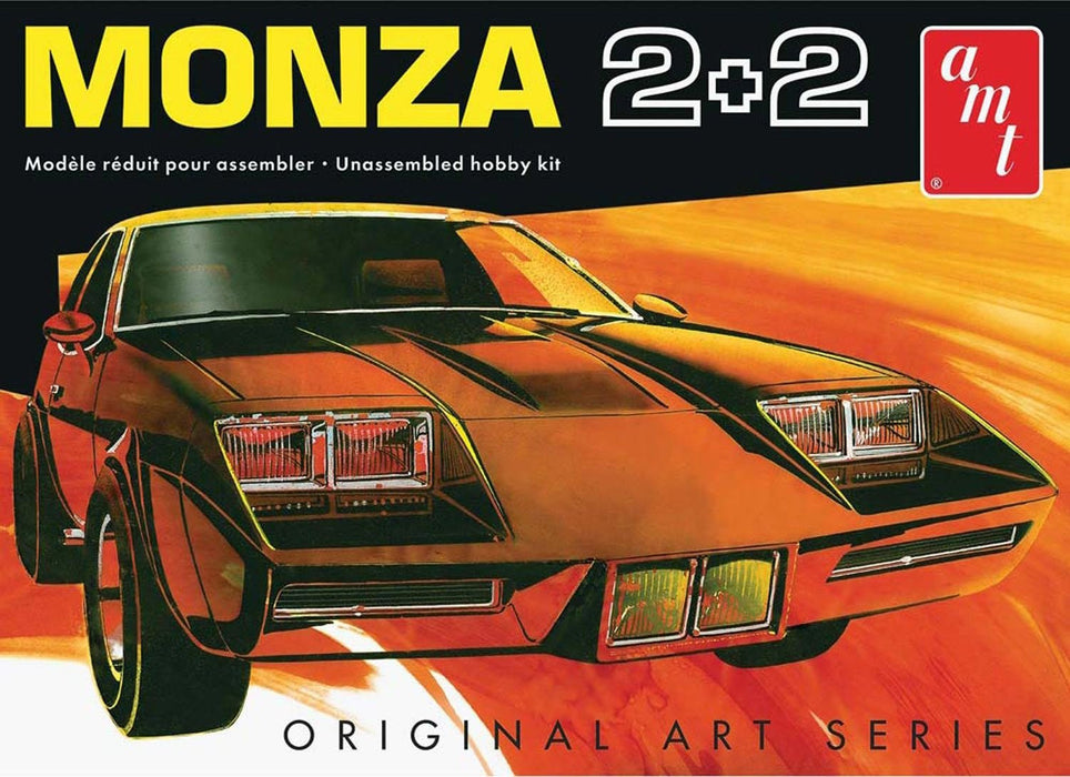 "AMT AMT1019 1:25 Scale ""Chevy Monza 2+2 Custom"" Model Kit"