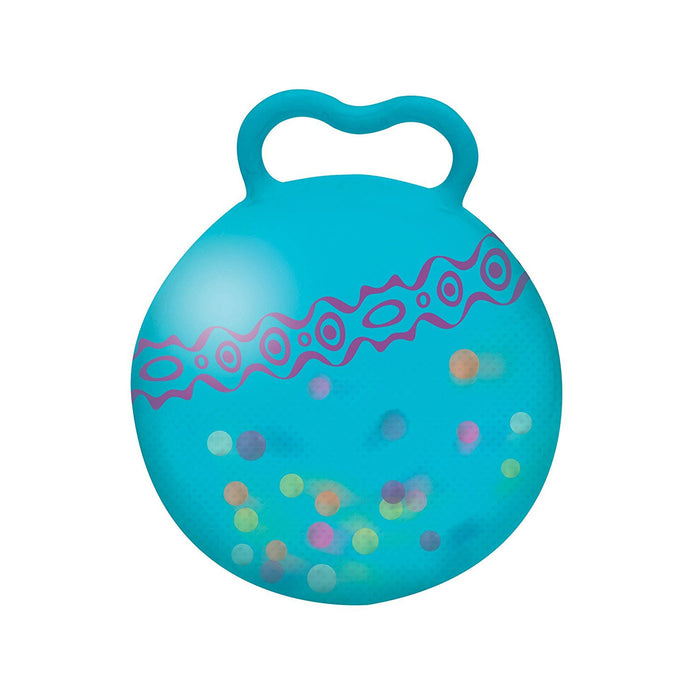 "B ""Hop n Glow Light Up Space Hopper"" Toy"
