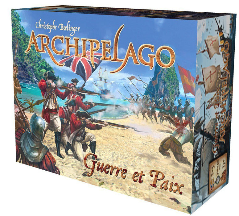Asmodee - arch03fr - Card Game - Archipelago War and Peace